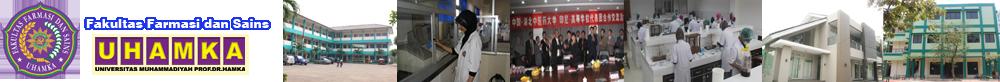 Website Resmi Fakultas Farmasi dan Sains UHAMKA